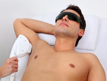 эпиляция тела мужчин