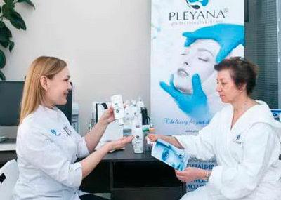 программы курсового комплексного ретинолового пилинга PLEYANA